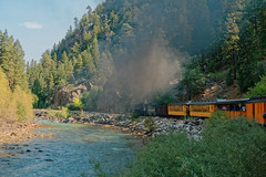 Bend in the Animas River R1004096 Durango & Silverton RR (Recliner) Tags: baldwin dsng drg