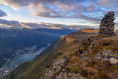 Evening at Rossnos (Terje Lægreid) Tags: odda outdoor canon clouds cloud colors canoneos6d color canonphotos rossnos trolltunga nature norway norge norwegen norvegia norvegen norwegianmountains natur norwegianoutdoor beautiful beauty bestofnorway eos6d eos europe exposure fjell fjelltur fjord fjords glacier hardanger himmel hiking høst horizon kaldt cold landscape light lightroom lights landskap mountain mountains mood moody paintshoppro pretty sky skyer scandinavia sunset sunrise travel utno utinaturen visitnorway wounderful wounderfulplaces weather amazing