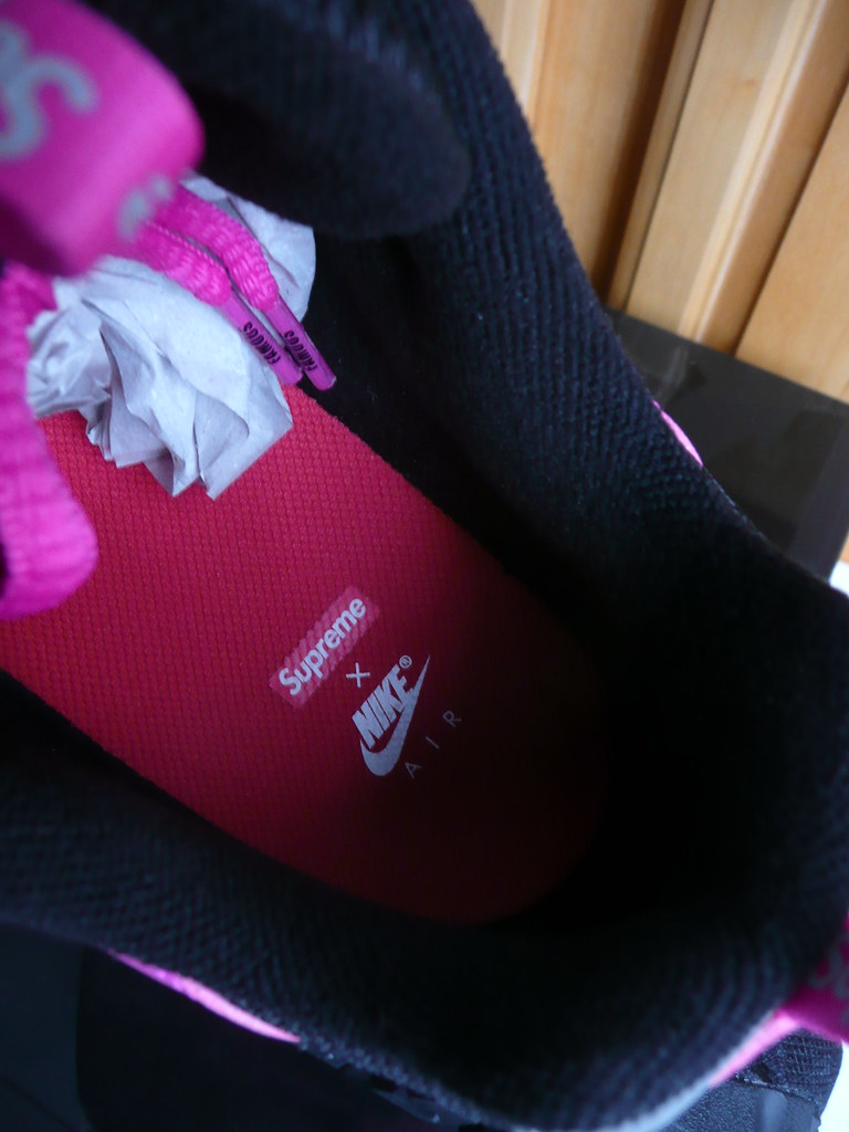 NikeLab Air Humara x Supreme Pink Magenta Sneakers Size 11 (debrok) Tags:  nike