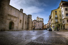 Iglesia de la Seu (jlmontes) Tags: pueblo laseud'urgell spain españa catalonia catalunya lleida iglesiaromanica granangular samyang14mm nikond3100