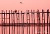 U Bein Bridge (Louise Acton (Lulu)) Tags: burma myanmar u bein bridge
