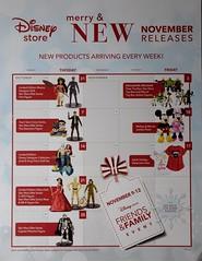 Disney Store November Release Calendar (drj1828) Tags: us disneystore release calendar flyer elenaofavalor limitededition doll 17inch