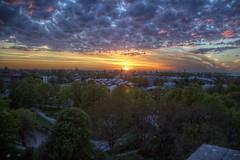 Sunset over Kalamaja (pbr42) Tags: estonia tallin outdoor sky cloud hdr sunset evening skyline kalamaja