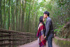 romantic story at bamboo forest (ChenLiang0729) Tags: bamboo forest green greenforest taiwan taiwanese iseetaiwan naturelandscape landscape nature portrait kiss kissing tunnel trail foresttrail romantic love lover couple story 台灣 苗栗 竹林 竹林隧道 台版嵐山 kissforehead