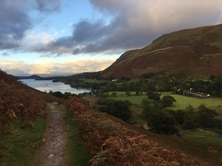 Sunset at Howtown, Ullswater
