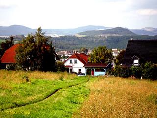 Dorf in der Eifel