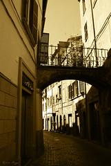 Old Viterbo (DameBoudicca) Tags: italy italien italia italie イタリア viterbo street gata strase calle rue strada 道