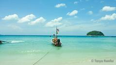 Solitude Drifter (Tanyaramfar) Tags: longboat paradise ocean island colour natur sea seascape sunny water vacation art fun thailand travel