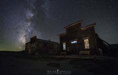 Eternity under the stars (ihikesandiego) Tags: bodie ghost town eastern sierras milky way night sky