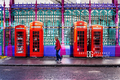 Colours Delight - Smithfield Market, London, UK (davidgutierrez.co.uk) Tags: london architecture city photography davidgutierrezphotography art urban londonphotographer color travel uk nikond810 nikon photographer england unitedkingdom europe beautiful cityscape davidgutierrez britain greatbritain d810 street arts sun summer buildings nikon2485mmf3545gedvrafsnikkor nikon2485mm iconic landmark people property 伦敦 londyn ロンドン 런던 лондон londres londra capital structure building colors colourful colours colour streets attraction daytime smithfieldmarket telephonebox redphonebox person purple blue cityoflondon farringdon market londoncentralmarkets smithfield vibrant vivid