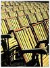 Pisa, Giardino Scotto (gianclaudio.curia) Tags: bianconero blackwhite cameraoscura colore cartafotografica ilford rodinal kodak olympus om2n pisa giandino sedie hp5