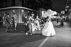 Wedding (*~Dharmainfrisco~*) Tags: dharma dharmainfrisco new orleans louisiana night walk walkabout travel tour 2016 hustler palace cafe french quarter bourbon street life nightlife usa state south southern wedding