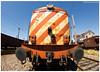 Devesas 01-06-14 (P.Soares) Tags: 1400 comboio cp comboios caminhodeferro 1422 carga cpcarga locomotiva linha linhas locomotivas laranja linhadonorte