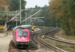5 370 007 (Daniel Wirtz) Tags: 370 pkpic370 pkp 5370007 taurus es64u4 wilhelmshagen berlin pkpic pkpintercity berlinwarszawaexpress ec45