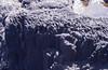 Columnar dyke, south Eigg near caves. 1987 (Mary Gillham Archive Project) Tags: 1987 39424 eigg geology island landscape may1987 nm4783 scotland unitedkingdom gb