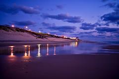 Biscarrosse (efgepe) Tags: 2017 france frankreich september biscarrosse abend nacht farbe color meer ufer strand sea shore