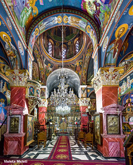 Holy places.. (2) (Violeta Meleti) Tags: church indoor greece orthodox holy god panorama panoramic