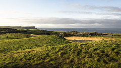 North Antrim Evening Panorama (frcrossnacreevy) Tags: 2017 october olympusem1 olympusmzuiko17mm18 stitchedpanorama causewaycoast autumn 1001nights 1001nightsmagiccity