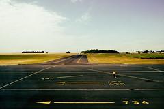 AT7 is waiting for Cessna 680 at point 734 ... Part One (johann walter bantz) Tags: landing aviation creative colorful imagination imagine 35mm d4 nikon normandy normandie capriquet airport cessna680