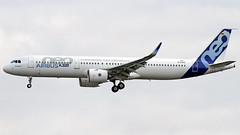 Airbus A321-271N A321NEO D-AVXA (MSN 6673, A321NEO PW1000G Prototype) Airbus Industrie | Toulouse Blagnac TLS/LFBO (Horatiu Goanta Aviation Photography) Tags: airbus a321 a321neo a320neo a321200 neo a320family a320neofamily a321newengineoption newengineoption narrowbody sharklet singleaisle a321271nwl a321271n a321271 davxa msn6673 airbusindustrie firstprototype pw1000prototype airbusprototype prototype a321neosecondprototype pw1100g pw1133g pw1000g prattwhitneypw1000g prattwhitney gearedturbofan turbofan civilaviation commercialaviation aerospace airplane plane aviation aircraft flight wings jet passenger passengeraircraft passengerplane passengerjet jetairliner jetliner jetengine turbine turbojet highbypassturbofan bypassturbojet airbustestflight airbusfactorytestflight factorytestflight testflight airliner toulouse blagnac toulouseblagnac toulouseblagnacairport toulouseairport tls lfbo tlslfbo airport flughafen transport horatiugoanta planespotting planespotter