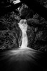 DSC02385 (kenny drolet) Tags: bw a7rii zeiss1635 quebec waterfall landscape