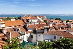 Lisbon Rooftops (joscelyn_p) Tags: lisbon lisboa portugal travel orange rooftop rooftops canon lightroom colors colorful