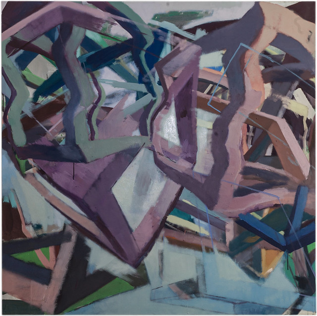 Tremolo, 120 x120 cm, Acrylic,Eggtempera,Pigment, 2017