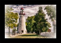 Marblehead Lighthouse (Rx Eman.) Tags: 2017 ohio september lakeside marblehead