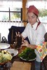 Cooking seaweeds with Lorna Munoz in Chiloe, Chile (The Algonauts Project: sharing the power of algae!) Tags: chiloe chile chili finistere seaweeds algues algas cuisine cooking