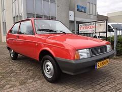 1987 Citroën Axel 11 (Skitmeister) Tags: rj80dh axel oltcit citroen