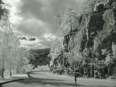 Winterlook in summertime (Frank ) Tags: norge noorwegen europe infrared ir sony digitalir frnk travel scenery landscape