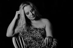 Kirstie (Allan Jones Photographer) Tags: portrait artistic bw kirstie model mono monochromatic monochrome blackandwhite soft allanjonesphotographer canon5d4 canonef24105mmf4lisiiusm