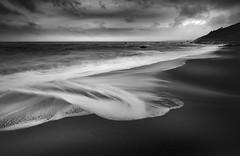 Tidal Abstacts (Mick Blakey) Tags: swell shoreline slowexposure tidal cornish cliffs receding moody coastpath sea clouds shadows contrast coastline tide monochrome coastsurf cornwall coastal surf blackwhite seascape cove coast whitsandbay dramatic