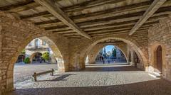 Monpazier, Dordogne, SW France (surreydock) Tags: gothic bastide france edward