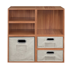 PC2F4HPKWCNT_2 (RegencyOfficeFurniture) Tags: niche regency cubo cubestorage modularstorage modular connecting connectable adaptable custom customizable cube square storageset closet organizer organization furniture cubes expandable home melamine laminate woodtone warmcherry pc1211 pc1211wc pc1206 pc1206wc bins totes storagebin storagetote foldable folding collapsible collapsing fabric chromehandle labelholder nametag htote htotent htote1206 htote1206nt pc2f4hpk natural beige offwhite