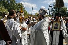 28. Первая литургия в с. Адамовка