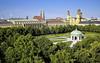 Hofgarten – Residenz – Theatinerkirche in München (Tyaren8) Tags: luftaufnahme münchen panorama hofgarten residenz theatinerkirche garten kapelle tourismus germany