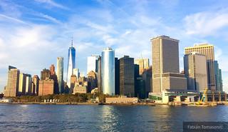 Skyline. Manhattan. NY