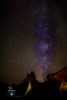 Milky Way over teepee (canorus) Tags: navajo utah nava monumentvalley monumentvalleytpvillage milkyway nightshots