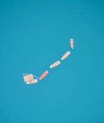 The Expected Blue (ThibaultPoriel) Tags: italy drone aerial lago lake blue minimalist minimal minimalism lagodibraies pragserwildsee dolomiti nature wild landscape dji phantom4pro above view discover travel colors alps