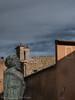 Busto di Adolfo Cozza a P.zza del Popolo - Orvieto (frillicca) Tags: 2017 adolfocozza architecture architettura bronze bronzo bust busto medieval medievale medioevo orvietotr ottobre panasoniclumixlx100 piazzadelpopolo
