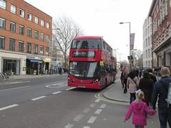 2530, Waterloo, London, 11/03/17 (aecregent) Tags: londonbuses2017 waterloo london 110317 ctplus enviro400hcity hybrid 2530 sn66wrt 26