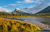 2017-10-02 Banff Alberta Vermilion Lakes-5 (Michael Schmidt Photography Vancouver) Tags: banffalberta banffnationalpark bowrivervalley canadianrockymountains michaelschmidtphotographyvancouverbc mountrundle reverendrobertrundle rockymountains rundlemountain southbanffranges therundlepeaks vermilionlakes waskahiganwatchi artwork autumn beige black blue bluesky brown clouds dmschmidtshawca grass green grey mountain orange photography reflection seriesoflakes smallmountainrange snow trees white wwwmichaelschmidtphotographycom wwwthisiswhatiseeca yellow geo:lat=51176497222222 exif:focallength=24mm camera:make=sony exif:make=sony geo:lon=115631125 camera:model=ilca99m2 geocountry geostate exif:isospeed=50 geolocation exif:model=ilca99m2 exif:aperture=ƒ22 geocity exif:lens=24105mmf4