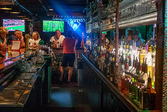 pour_me_another_one (gerhil) Tags: travel location bar bottles recreation atmosphere interior mood color light gatheringplace patrons bartender people autumn september2017 nikcolorefexpro4 sign mirror reflection 1001nights 1001nightsmagiccity