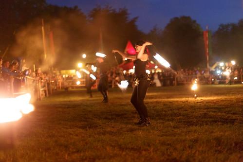 Feuershow Drachenfeuer