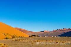 Dune 45, Namib-Naukluft Park, Namibia (Ulrich Münstermann) Tags: africa afrika dune45 dünen hardapregion landschaft namibnaukluftpark namibia natur sesriem wüste daytime desert dry dunes landscape landschap morning nature natuur sand