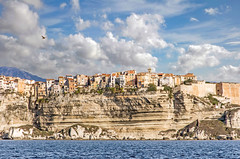 Bonifacio 5 (Xtian du Gard) Tags: xtiandugard france corse corsica bonifacio paysage landscape seascape waterscape falaises citadelle clouds