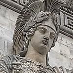 Paris  France ~  Porte Saint-Denis  ~ Historic Monument ~ Sulpture thumbnail