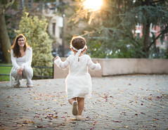 Oct, 2017 - Isabella (mg5thave) Tags: baby toddler dress photoshoot golden hour sunset jersey city new paulus hook waterfront hudson river baptism christening