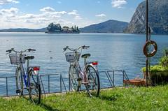 A bike with a view (/Paola/) Tags: iseo monteisola lake lago bikes island nikon d5100 landscape